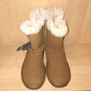 Suede Fur Boots